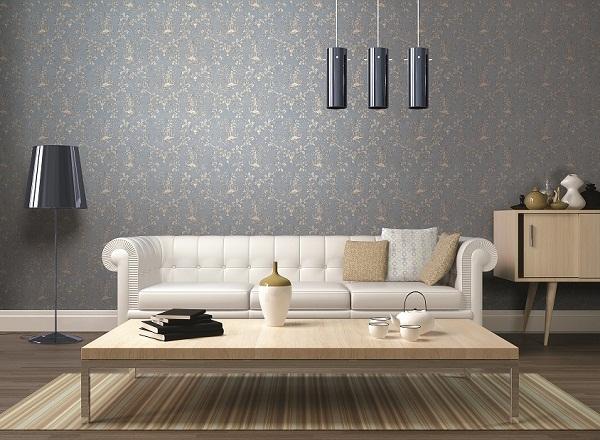 Ý nghĩa của giấy dán tường màu xám