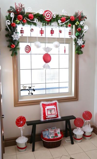 Ý tưởng trang trí cửa sổ đón giáng sinh cực dễ làm